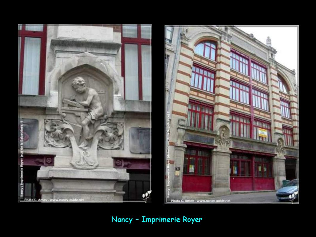 Nancy – Imprimerie Royer