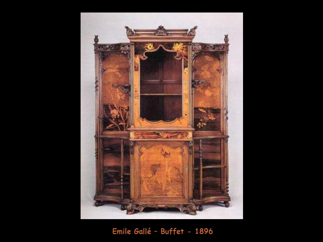 Emile Gallé – Buffet - 1896