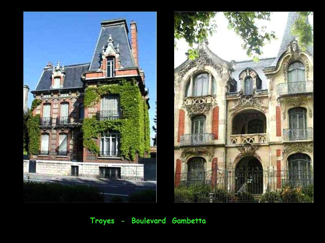 Troyes - Boulevard Gambetta