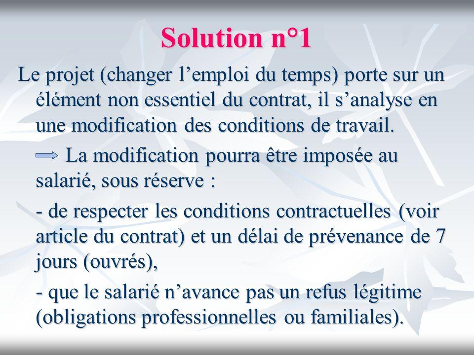 Solution n°1