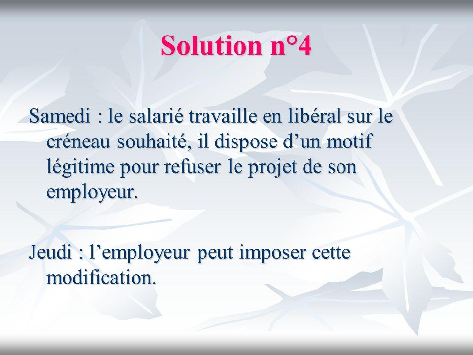 Solution n°4