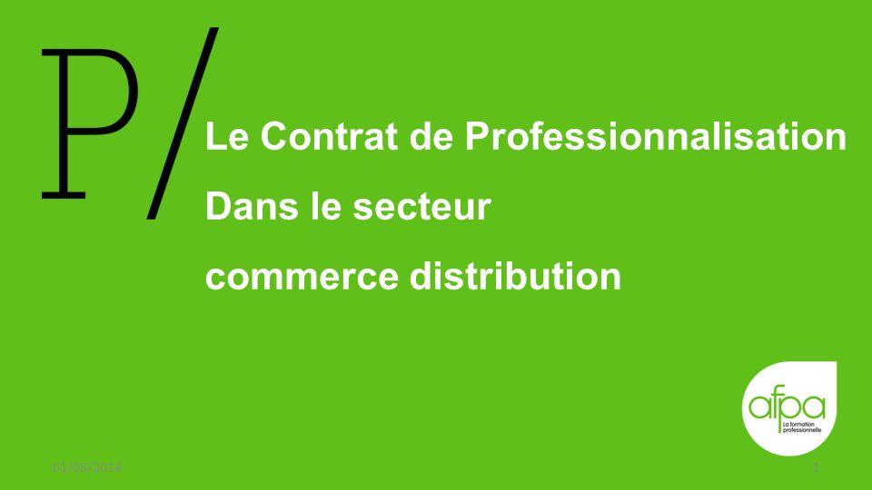 Le Contrat de Professionnalisation Dans le secteur