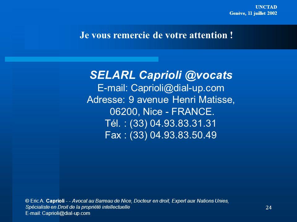 SELARL Caprioli @vocats
