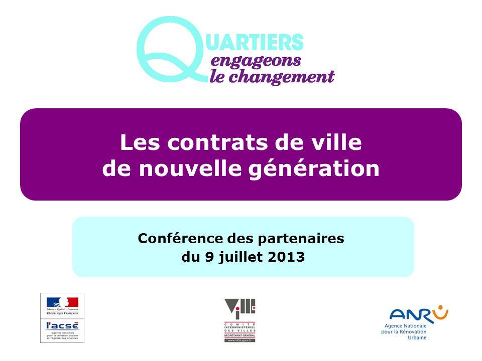 de nouvelle génération Conférence des partenaires