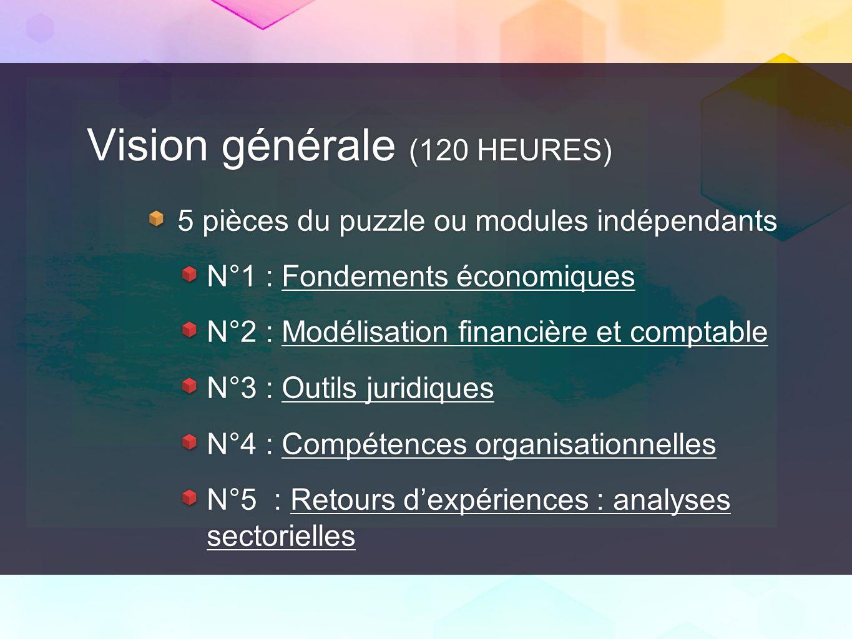 Vision générale (120 HEURES)