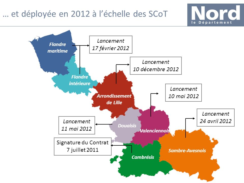 … et déployée en 2012 à l'échelle des SCoT