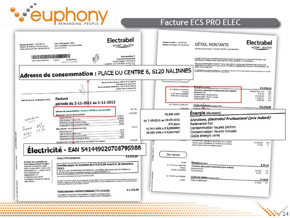 Facture ECS PRO ELEC