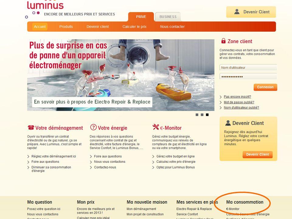 Foto website luminus
