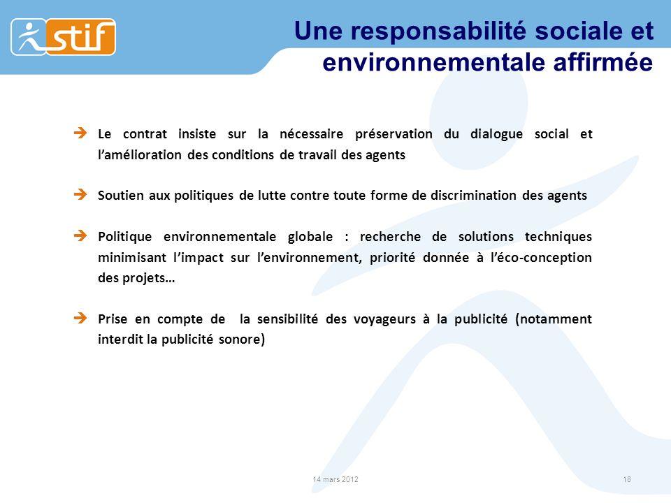 Une responsabilité sociale et environnementale affirmée