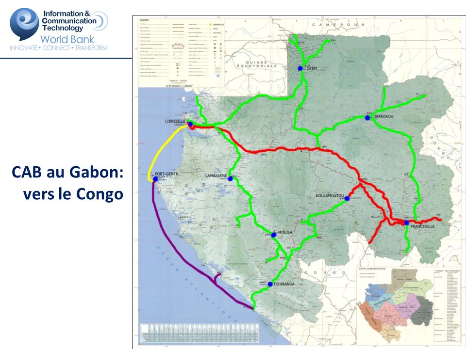 CAB au Gabon: vers le Congo