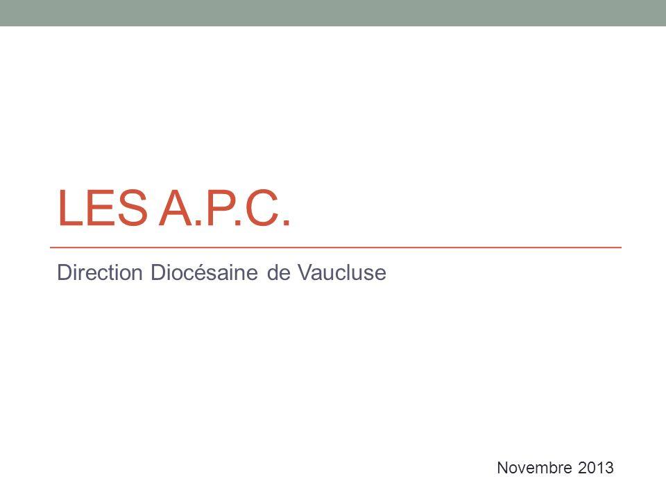 Direction Diocésaine de Vaucluse