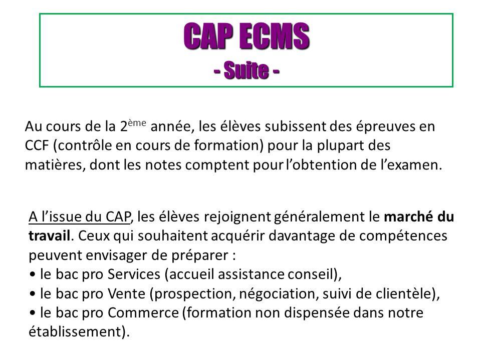 CAP ECMS - Suite -