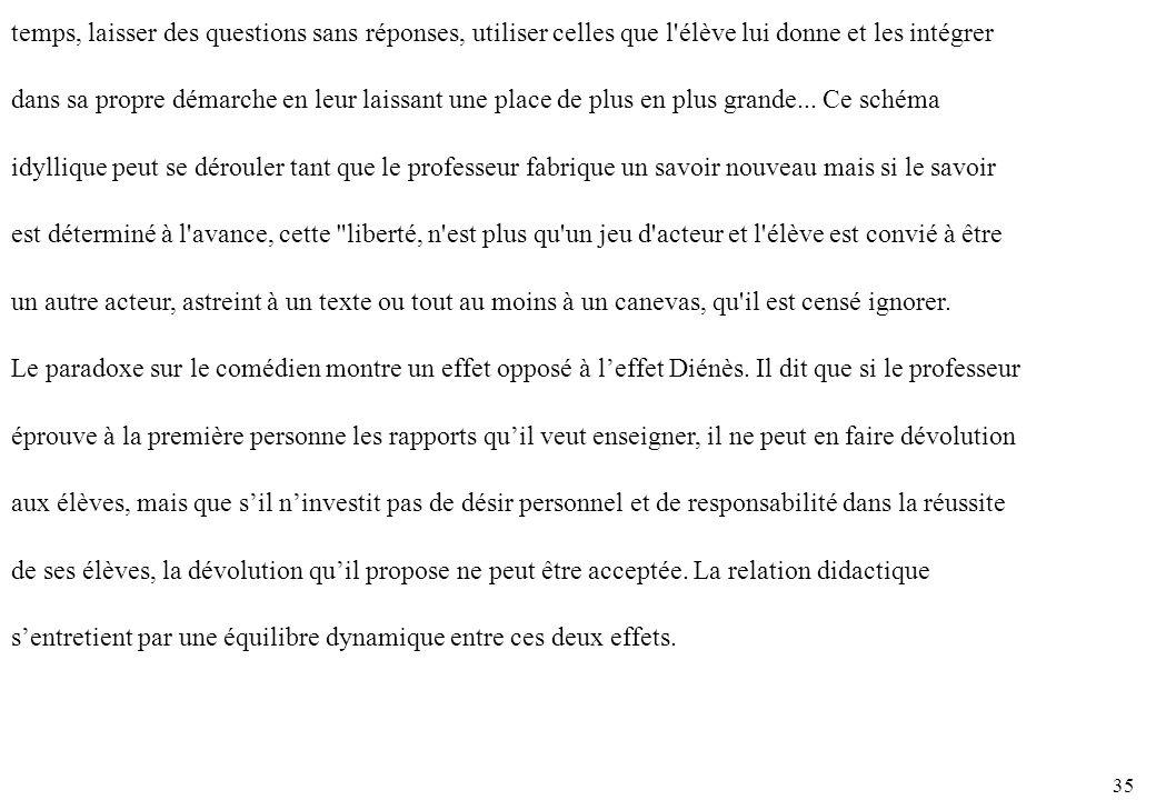 21. Paradoxe du comédien Diderot a formulé dans une étude célèbre le paradoxe inhérent à l activité du comédien : Plus.