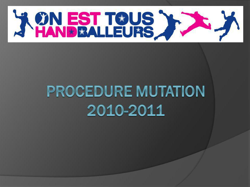 PROCEDURE MUTATION 2010-2011