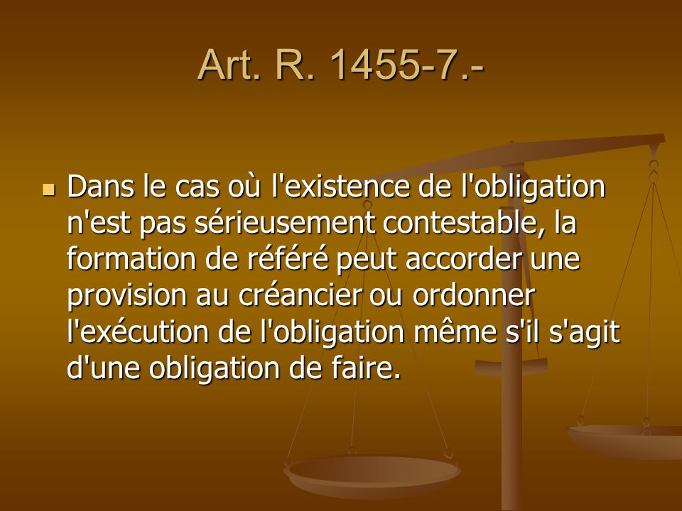 Art. R. 1455-7.-