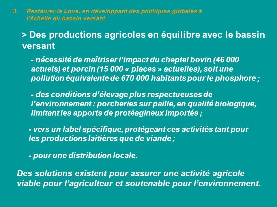 > Des productions agricoles en équilibre avec le bassin versant