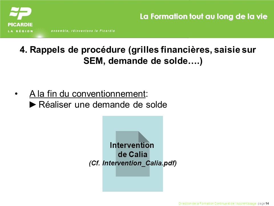 (Cf. Intervention_Calia.pdf)