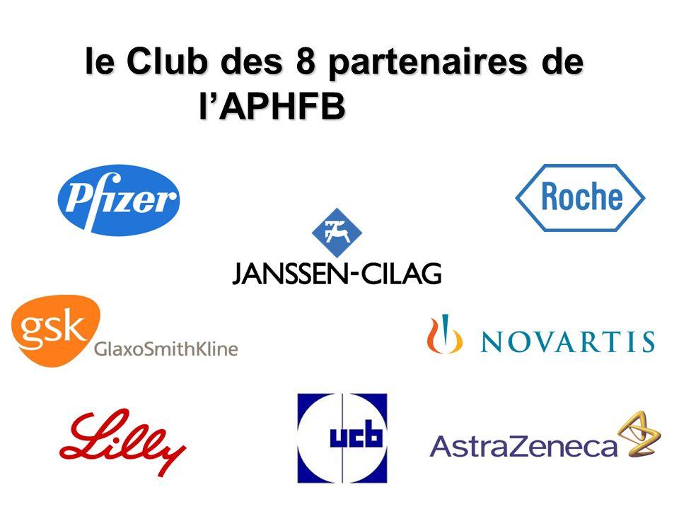 le Club des 8 partenaires de l'APHFB
