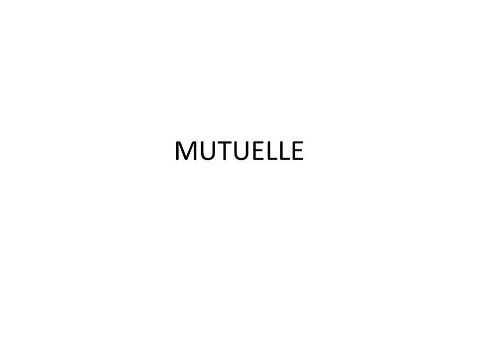 MUTUELLE