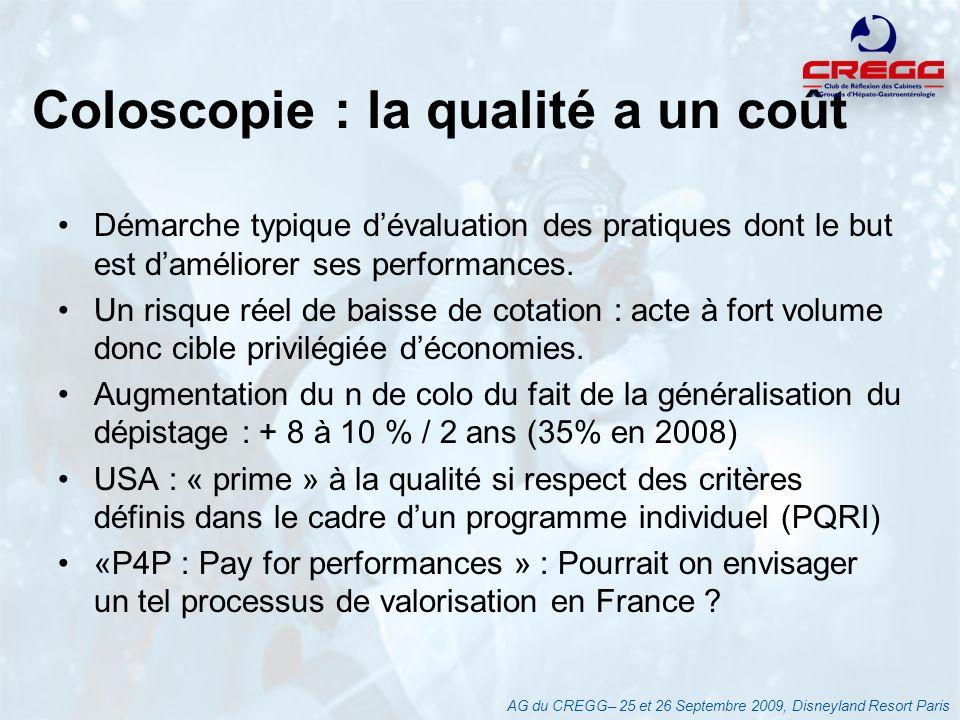 Coloscopie : la qualité a un coût