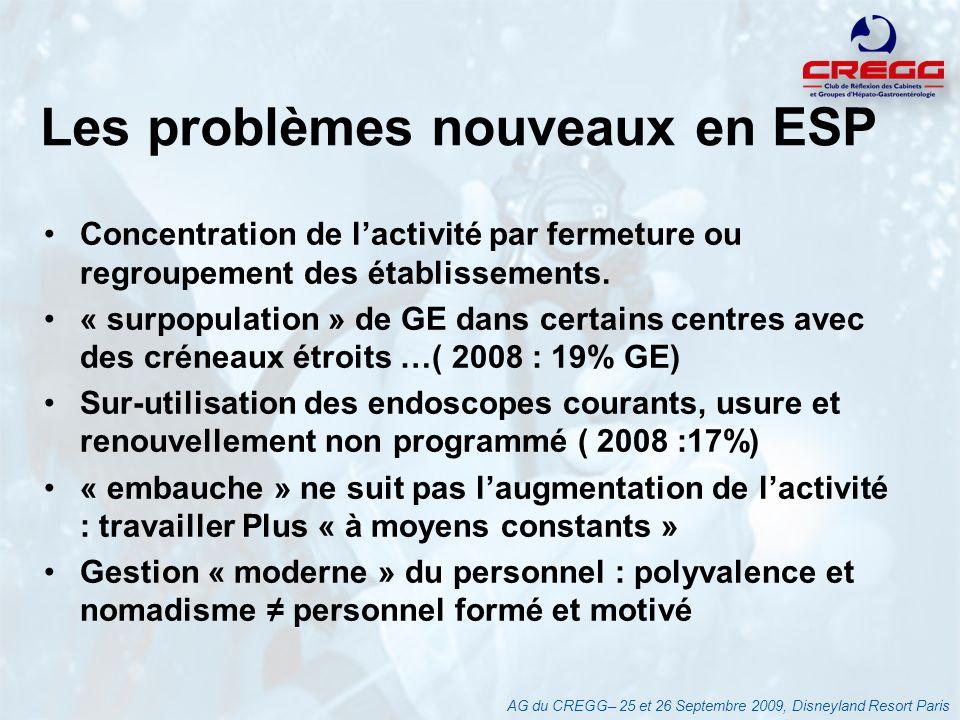 Les problèmes nouveaux en ESP