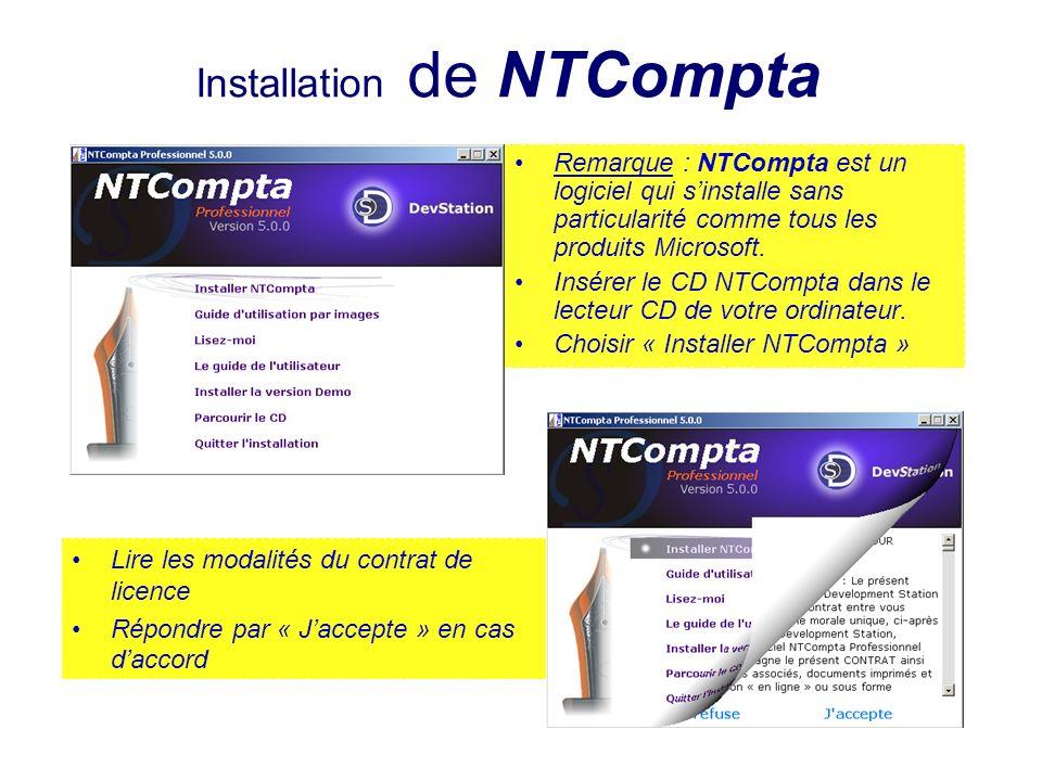 Installation de NTCompta
