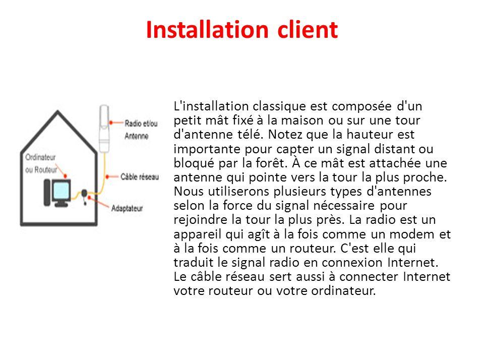 Installation client
