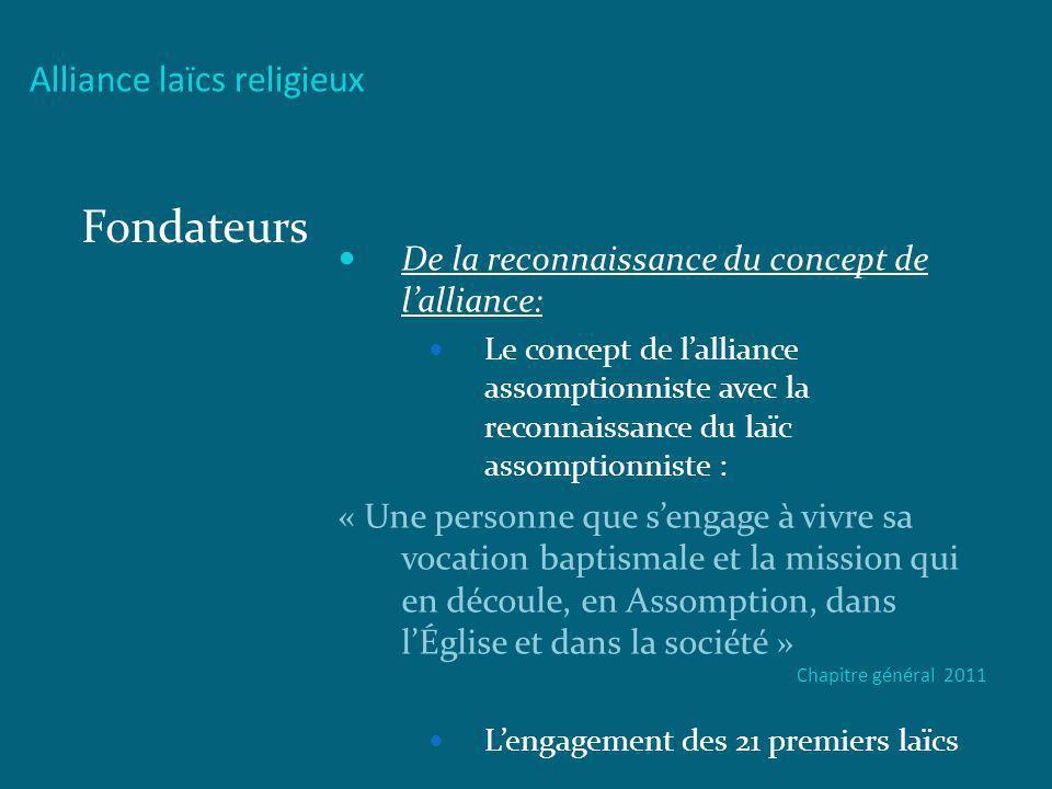 Fondateurs Alliance laïcs religieux