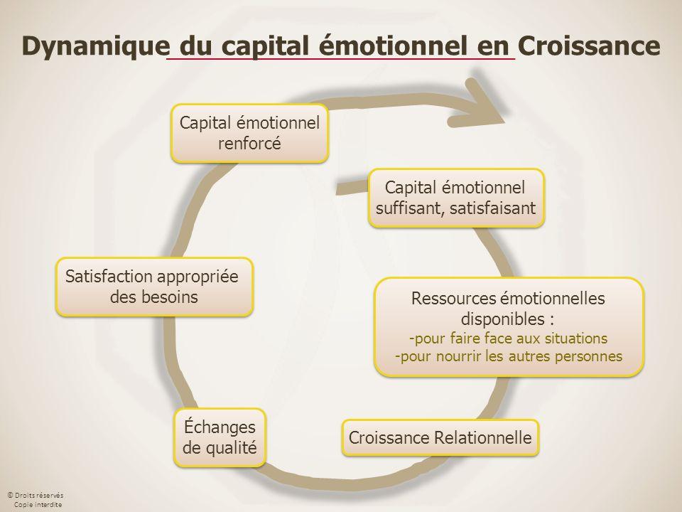 Dynamique du capital émotionnel en Croissance