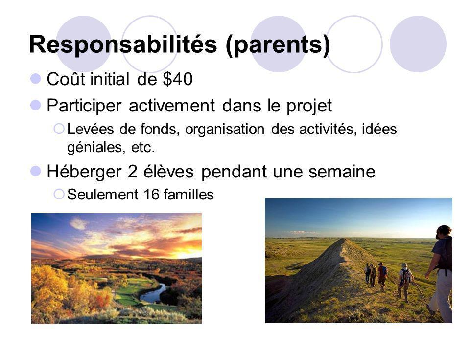 Responsabilités (parents)