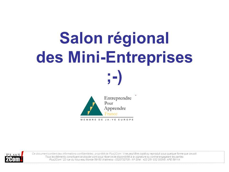 Salon régional des Mini-Entreprises ;-)