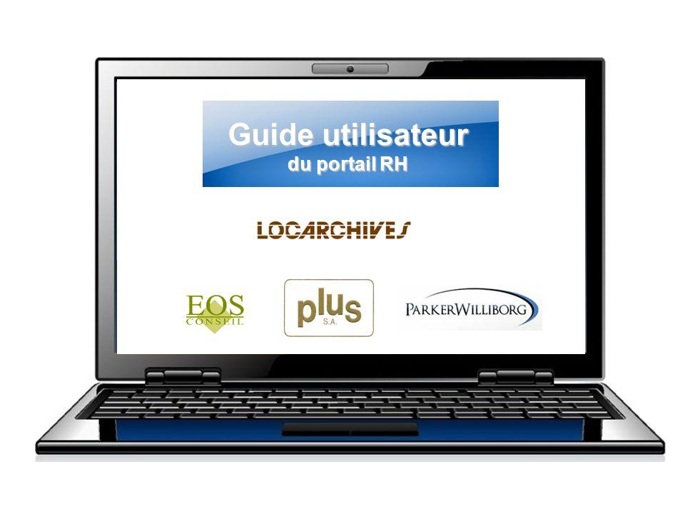 Guide utilisateur du portail RH