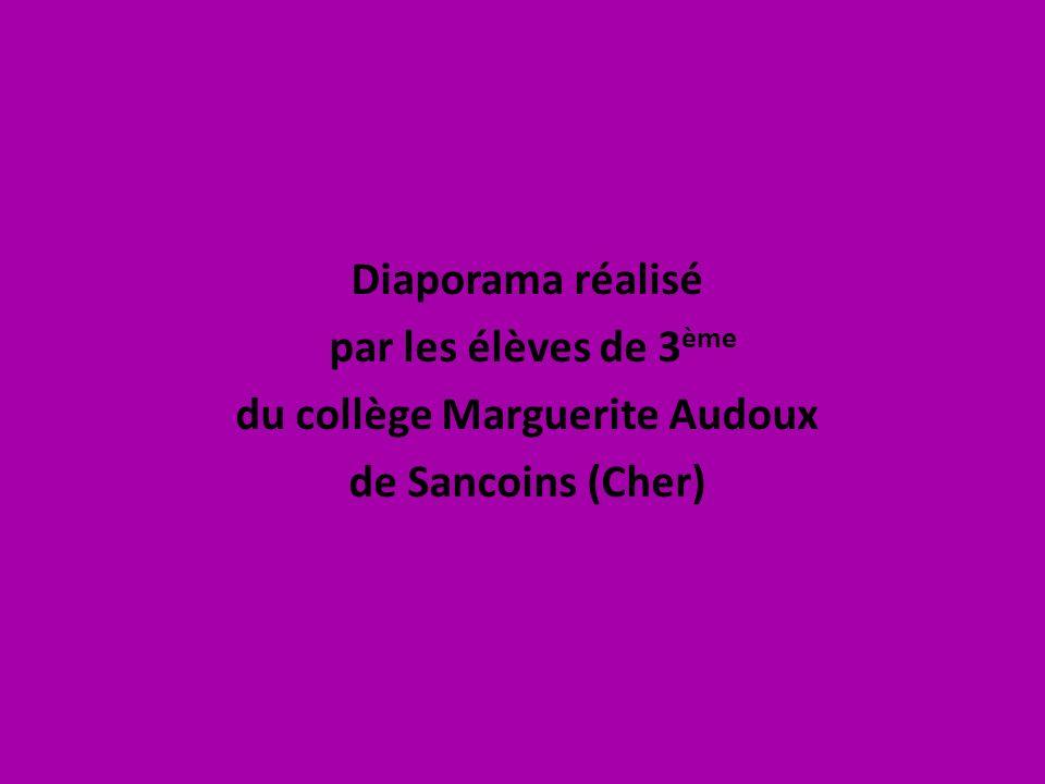 du collège Marguerite Audoux