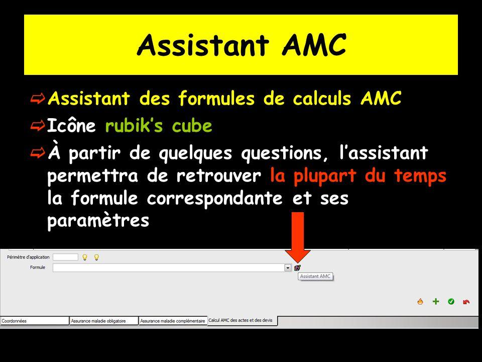 Assistant AMC Assistant des formules de calculs AMC Icône rubik's cube