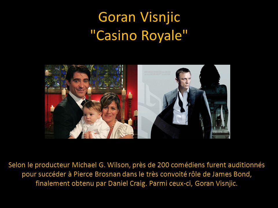 Goran Visnjic Casino Royale