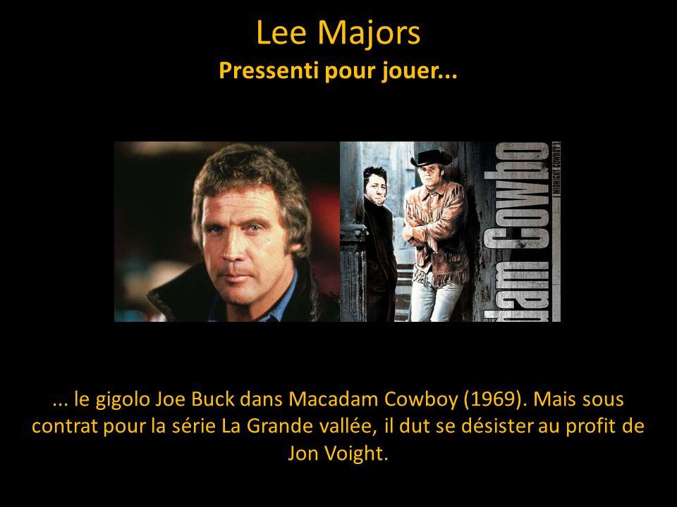 Lee Majors Pressenti pour jouer...