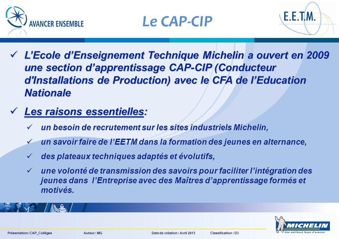 Le CAP-CIP