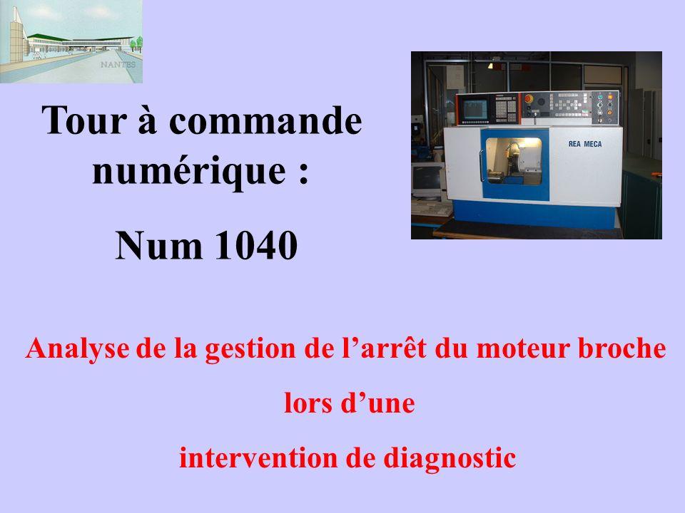 Tour à commande numérique : Num 1040