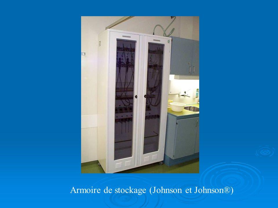 Armoire de stockage (Johnson et Johnson®)