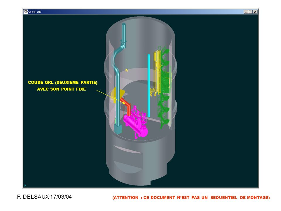 F. DELSAUX 17/03/04 COUDE QRL (DEUXIEME PARTIE) AVEC SON POINT FIXE