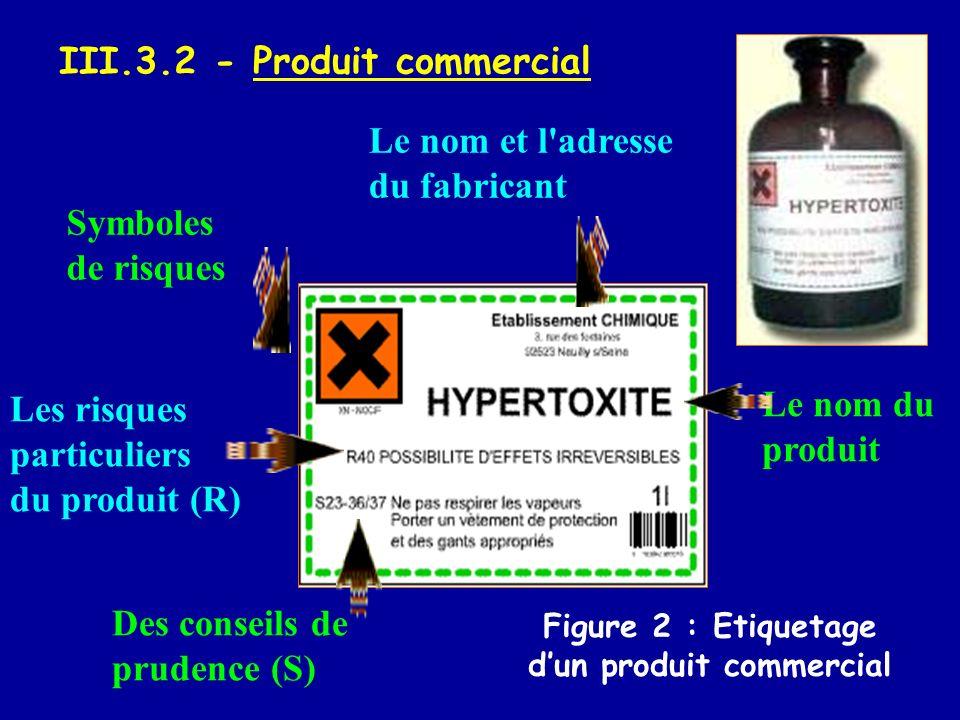 III.3.2 - Produit commercial