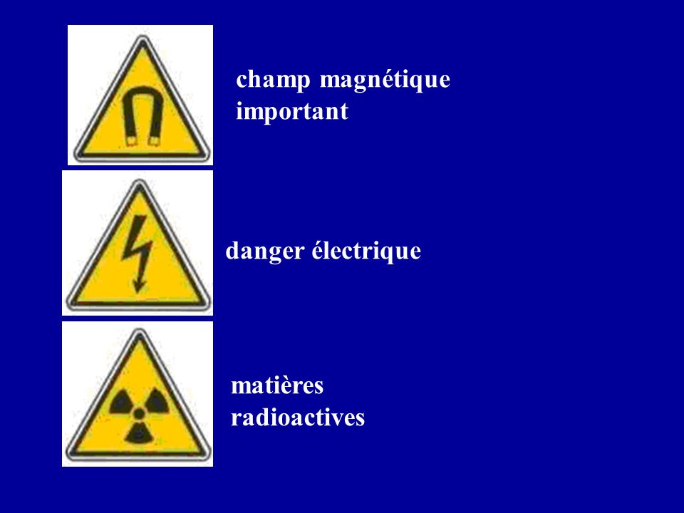 champ magnétique important