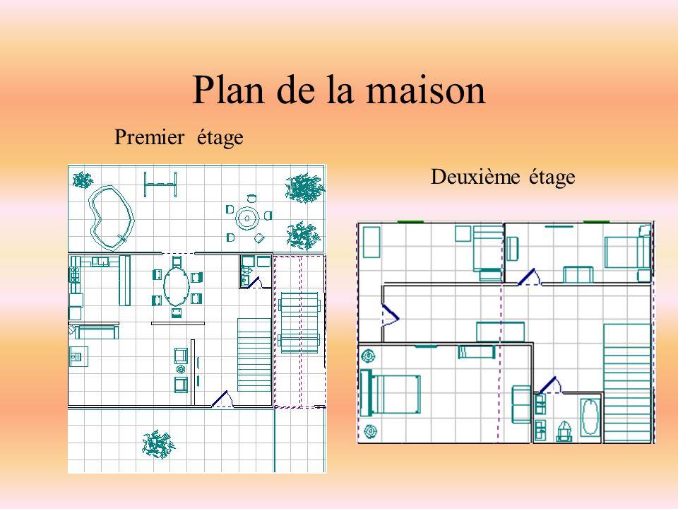 Plan de la maison Premier étage Deuxième étage