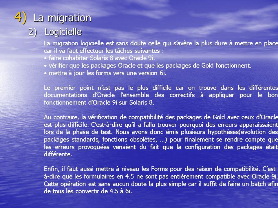 La migration Logicielle