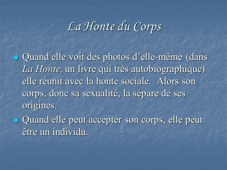 La Honte du Corps