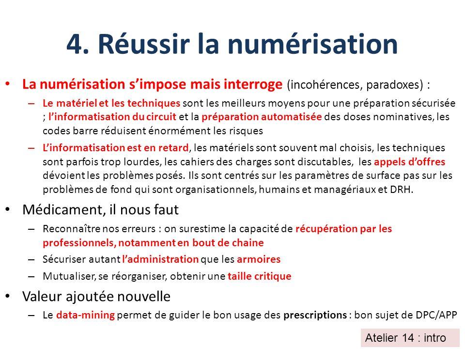 4. Réussir la numérisation