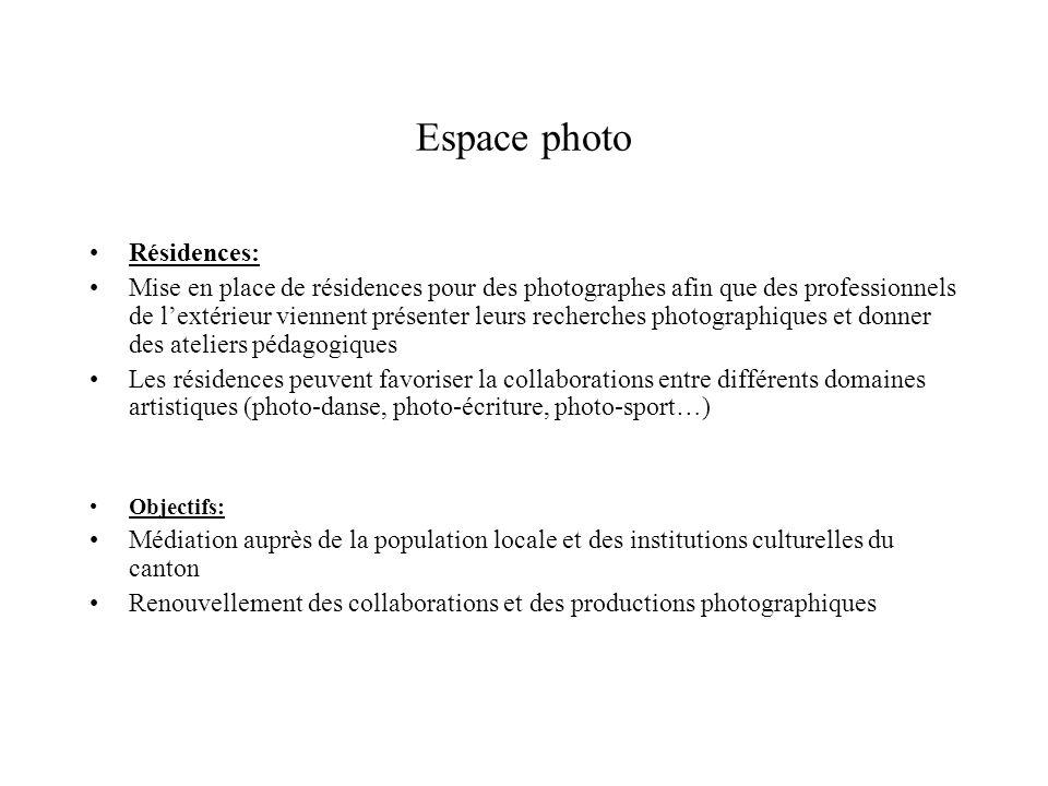 Espace photo Résidences: