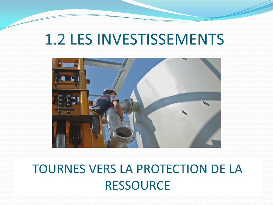 TOURNES VERS LA PROTECTION DE LA RESSOURCE