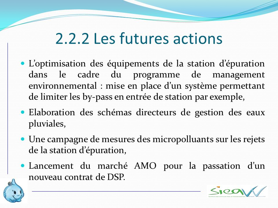 2.2.2 Les futures actions