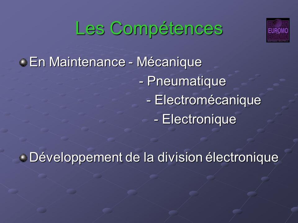 Les Compétences En Maintenance - Mécanique - Pneumatique